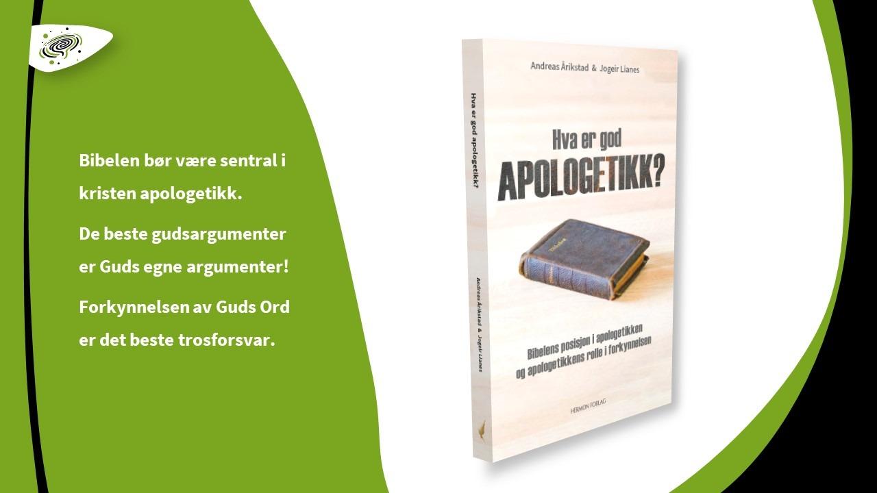 NY BOK: Hva er god apologetikk?