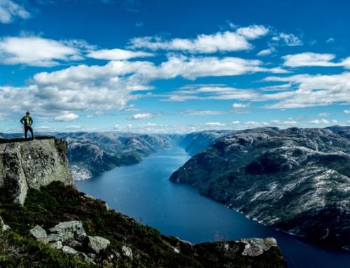 Hvordan ble fjordene formet?